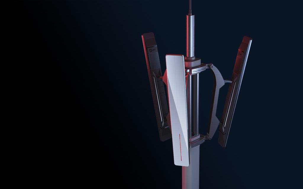 размещение оборудования на вышке