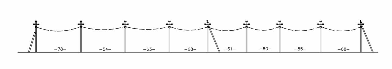 проектирование совместный подвес обленерго