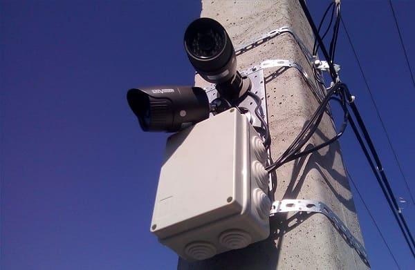 проектирование уличного видеонаблюдения города села